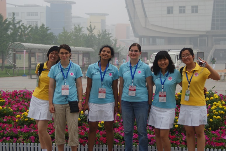 [Photo of CGMO 2010 team and guides]